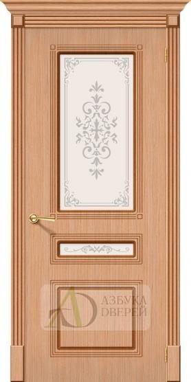 Межкомнатная шпонированная дверь Стиль ПО Дуб