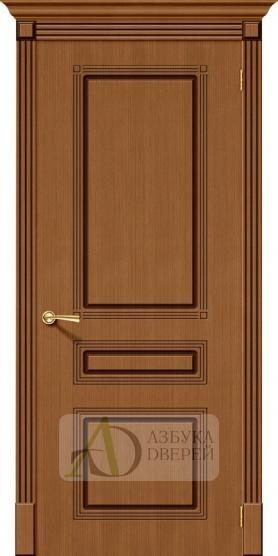 Межкомнатная шпонированная дверь Стиль ПГ Орех