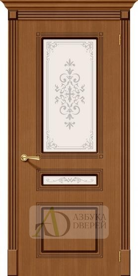 Межкомнатная шпонированная дверь Стиль ПО Орех