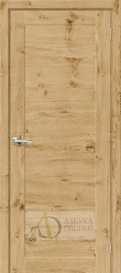 Межкомнатная шпонированная дверь Вуд Модерн-21 Barn Oak