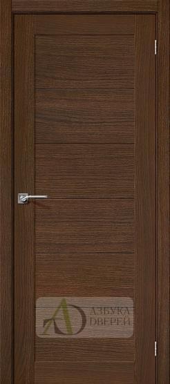 Межкомнатная шпонированная дверь Вуд Модерн-21 Golden Oak