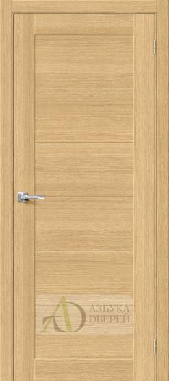 Межкомнатная шпонированная дверь Вуд Модерн-21 Just Oak