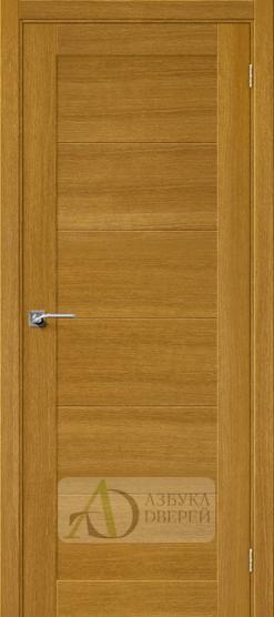 Межкомнатная шпонированная дверь Вуд Модерн-21 Natur Oak