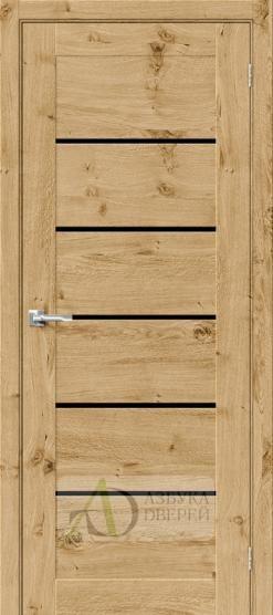 Межкомнатная шпонированная дверь Вуд Модерн-22 BS Barn Oak