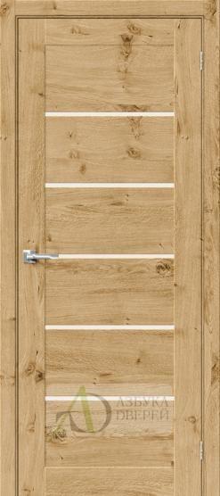 Межкомнатная шпонированная дверь Вуд Модерн-22 MF Barn Oak