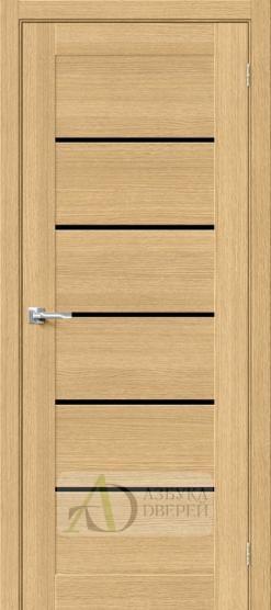 Межкомнатная шпонированная дверь Вуд Модерн-22 BS Just Oak