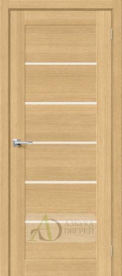 Межкомнатная шпонированная дверь Вуд Модерн-22 MF Just Oak