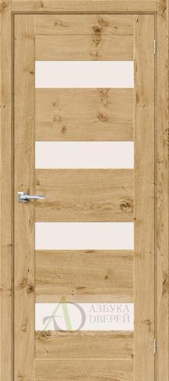 Межкомнатная шпонированная дверь Вуд Модерн-23 MF Barn Oak