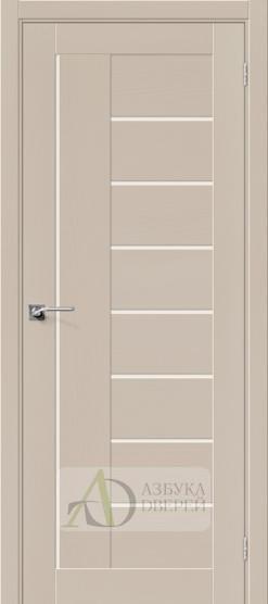 Межкомнатная шпонированная дверь Вуд Модерн-29 MF Latte