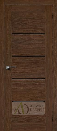 Межкомнатная шпонированная дверь Вуд Модерн-22 BS Golden Oak