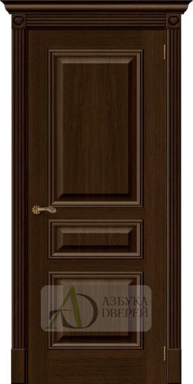 Межкомнатная шпонированная дверь Вуд Классик-14 Golden Oak