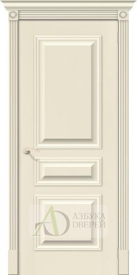 Межкомнатная шпонированная дверь Вуд Классик-14 Ivory