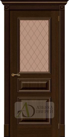 Межкомнатная шпонированная дверь Вуд Классик-15.1 Golden Oak