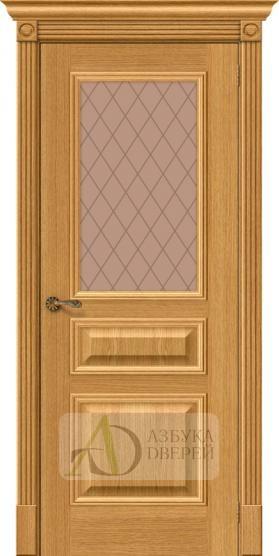 Межкомнатная шпонированная дверь Вуд Классик-15.1 Natur Oak