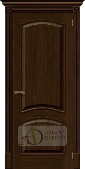 Межкомнатная шпонированная дверь  Вуд Классик-32 Golden Oak