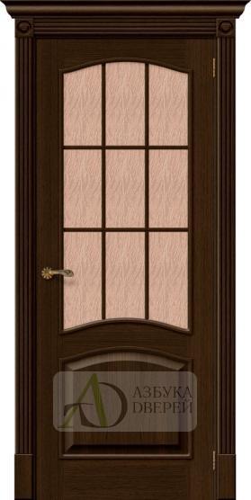 Межкомнатная шпонированная дверь Вуд Классик-33 Golden Oak