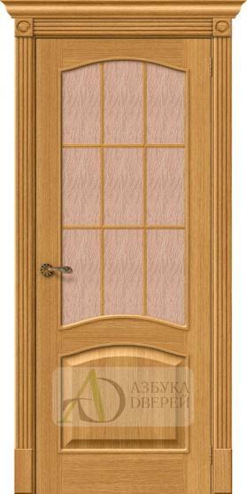 Межкомнатная шпонированная дверь Вуд Классик-33 Natur Oak