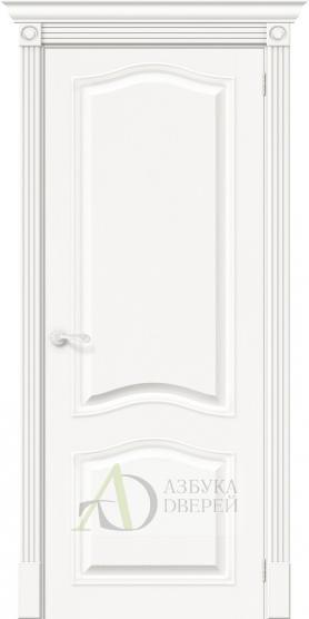 Межкомнатная шпонированная дверь Вуд Классик-54 Whitey
