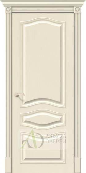 Межкомнатная шпонированная дверь Вуд Классик-50 Ivory