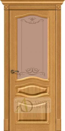 Межкомнатная шпонированная дверь Вуд Классик-51 Natur Oak