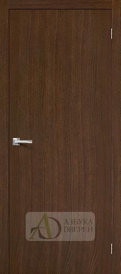 Межкомнатная шпонированная дверь Вуд Флэт-0.V Golden Oak