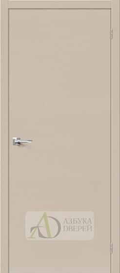 Межкомнатная шпонированная дверьВуд Флэт-0.H Latte