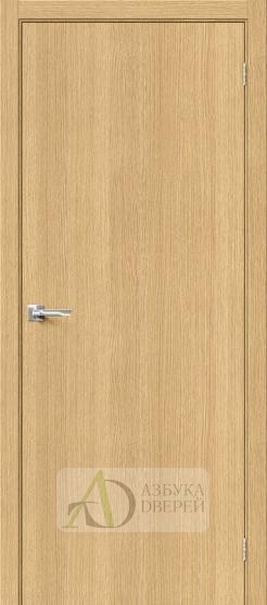 Межкомнатная шпонированная дверь Вуд Флэт-0.V Just Oak