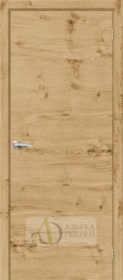 Межкомнатная шпонированная дверь Вуд Флэт-0.H Barn Oak