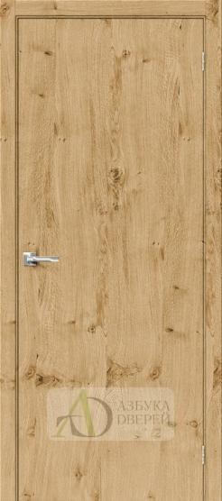 Межкомнатная шпонированная дверь Вуд Флэт-0.V Barn Oak