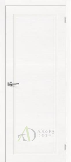Межкомнатная шпонированная дверь Вуд НеоКлассик-10.H Whitey