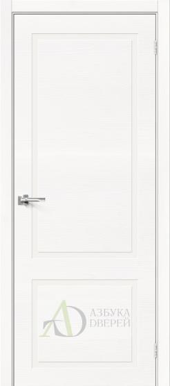 Межкомнатная шпонированная дверь Вуд НеоКлассик-12.H Whitey