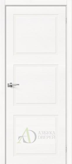 Межкомнатная шпонированная дверь Вуд НеоКлассик-16.H Whitey