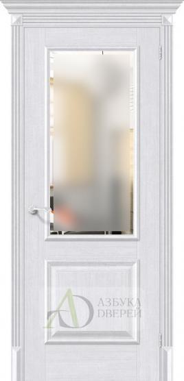 Межкомнатная дверь с экошпоном Классико-13 MilkOak