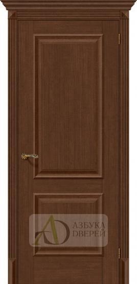 Межкомнатная дверь с экошпоном Классико-12 BrownOak