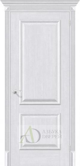 Межкомнатная дверь с экошпоном Классико-12 MilkOak