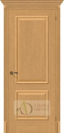 Межкомнатная дверь с экошпоном Классико-12 Real Oak