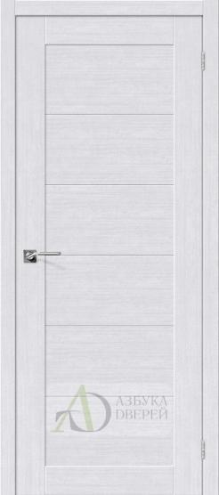 Межкомнатная дверь с экошпоном Легно-21 MilkOak