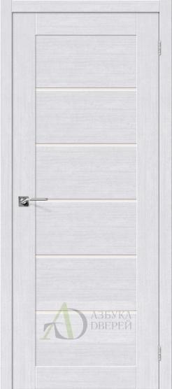 Межкомнатная дверь с экошпоном Легно-22 MilkOak