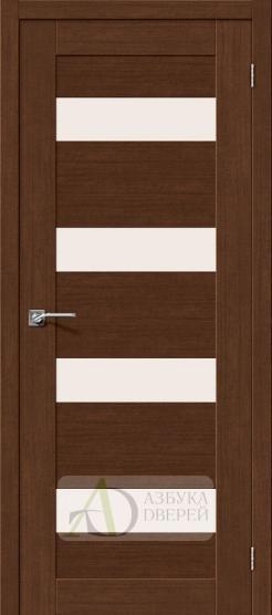 Межкомнатная дверь с экошпоном Легно-23 BrownOak