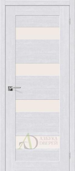 Межкомнатная дверь с экошпоном Легно-23 MilkOak