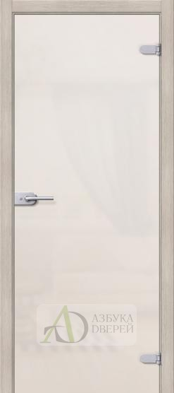 Лайт Белое Сатинато - стеклянная межкомнатная дверь