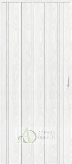 Межкомнатная раздвижная дверь (Гармошка) ДСК 007 Серый ясень