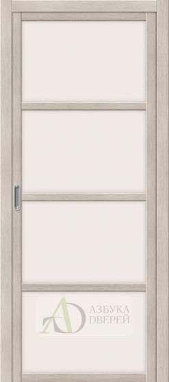 Межкомнатная дверь с Экошпоном Твигги V4 ПО Cappuccino Veralinga