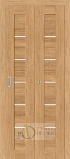 Межкомнатная складная дверь с экошпоном Порта-22 Anegri Veralinga