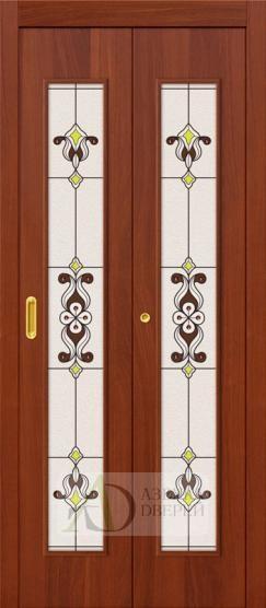 Дверь-книжка 23Х Итальянский Орех