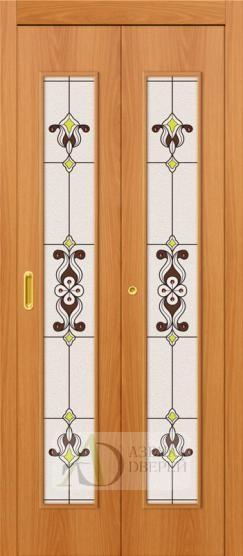 Дверь-книжка 23Х Миланский Орех