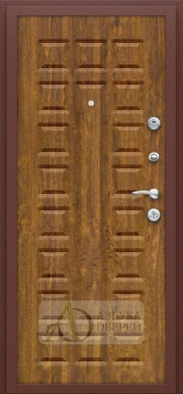 Входная дверь Йошкар П-17 Золотистый Дуб