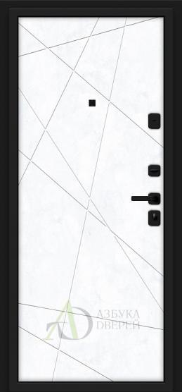 Металлическая дверь Porta M 15.15 Grey Art/Snow Art