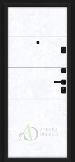 Металлическая дверь Porta M 4.4 Grey Art/Snow Art