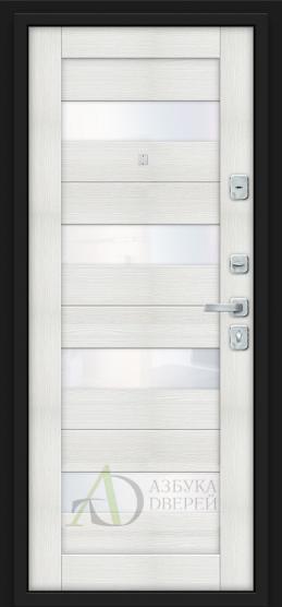 Металлическая дверь Porta M 4.П23 Almon 28/Bianco Veralinga